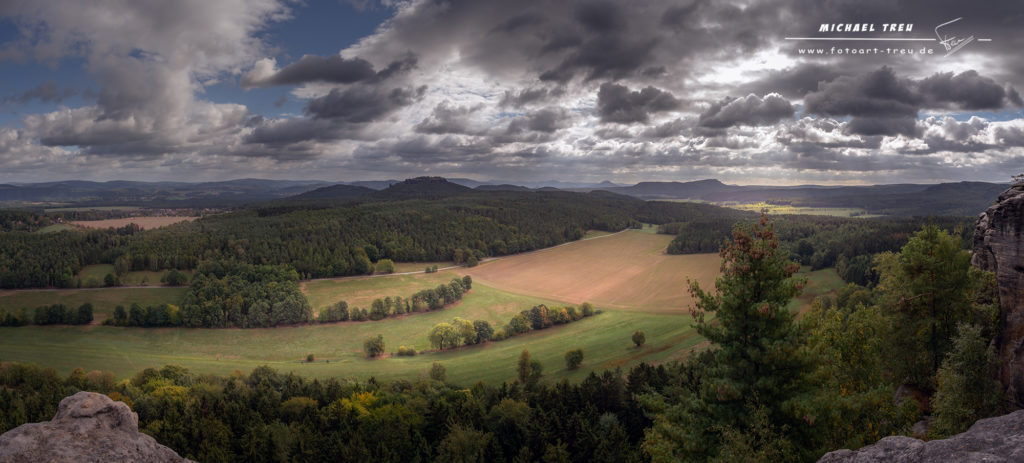 Panorama - Elbsandsteingebirge
